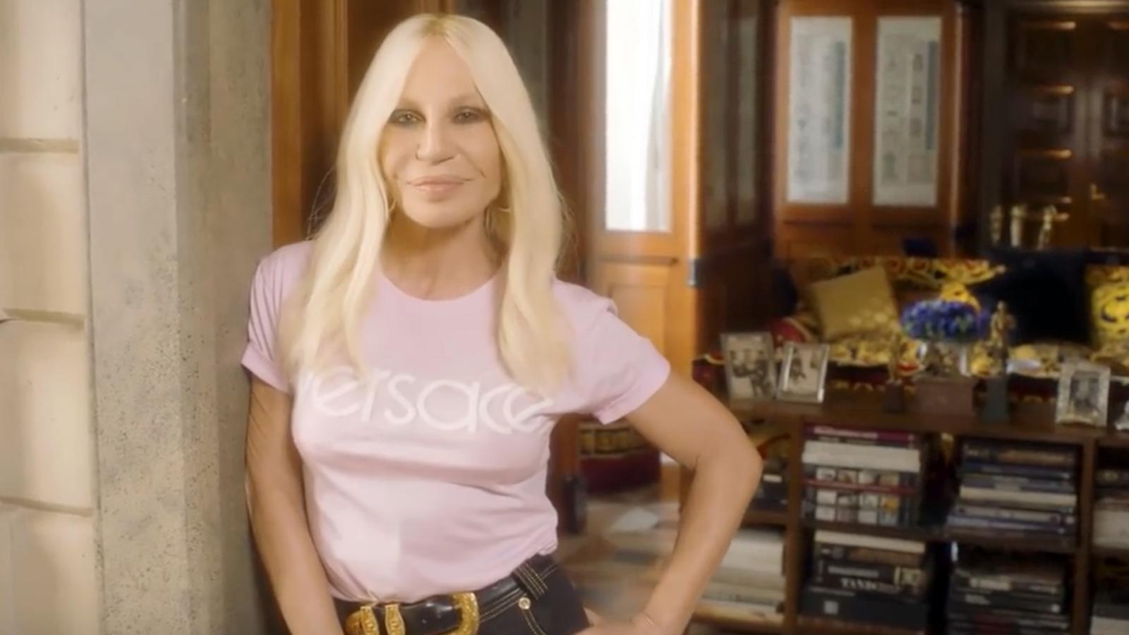 Donatella Versace Κορονοϊός: Γράμμα από το Μιλάνο