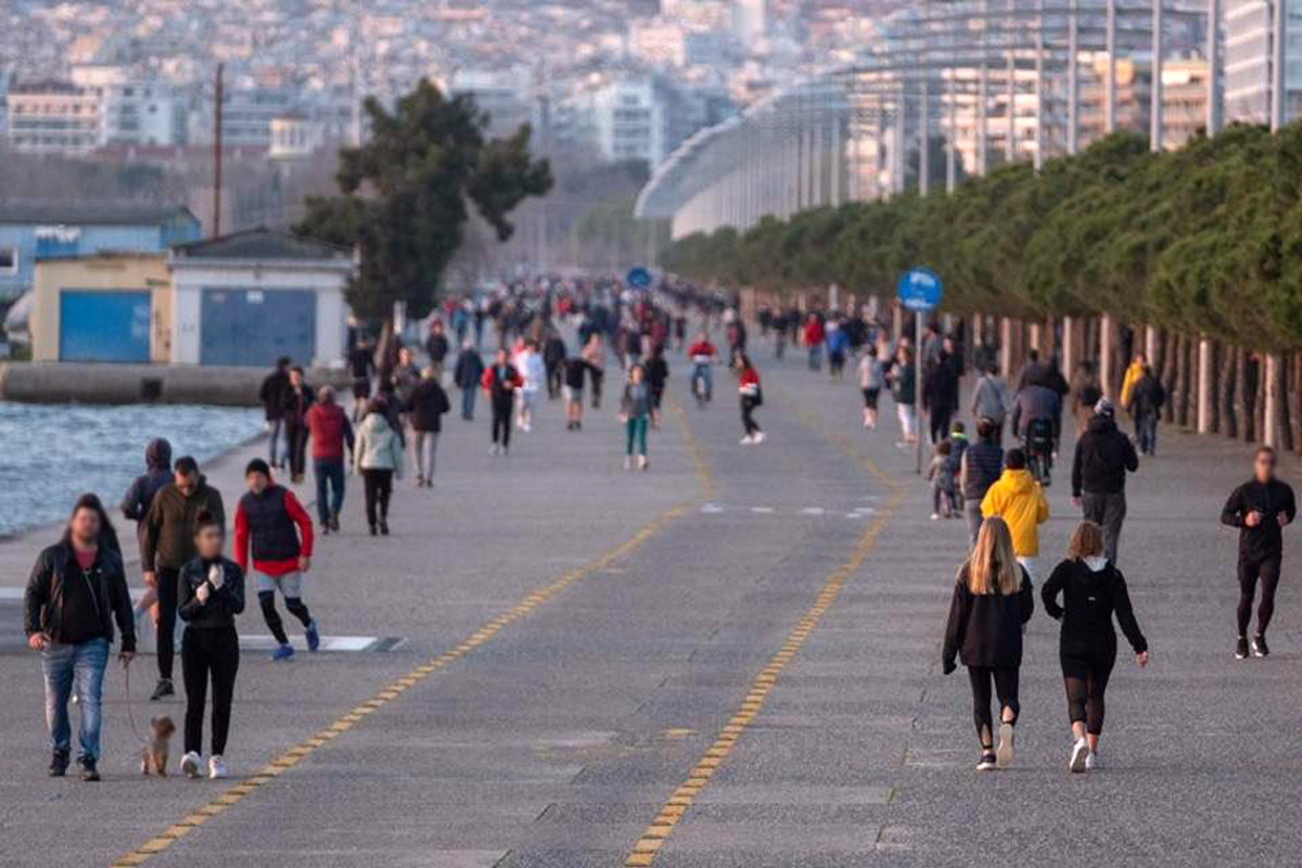 Παραλία Θεσσαλονίκης σήμερα: Κλείνει με 400 κιγκλιδώματα