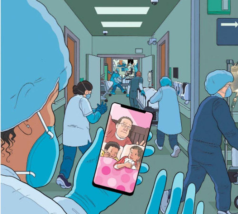 «Bedtime» – To συγκινητικό εξώφυλλο του New Yorker φόρος τιμής στους γιατρούς