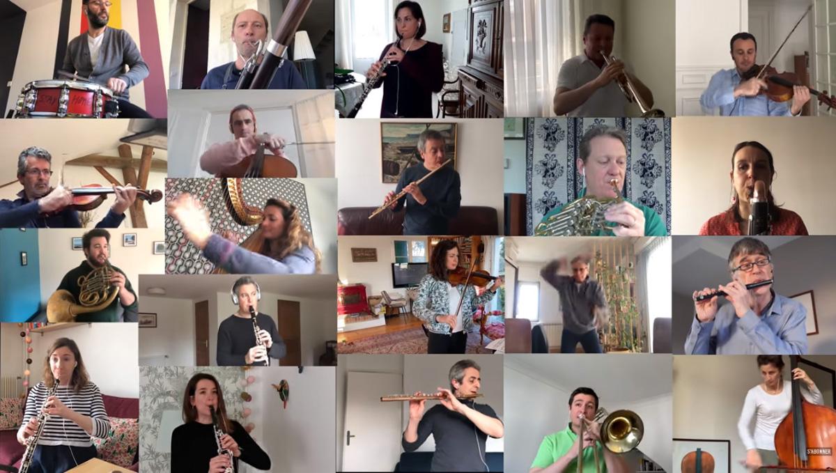 Μπολερό Ραβέλ «Μένουμε Σπίτι»: Η καλύτερη εκδοχή του Μπολερό του Ραβέλ που έχετε ακούσει ποτέ, από την Εθνική Ορχήστρα Γαλλίας [vid]