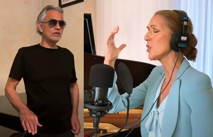 Live One World Together At Home:Δείτε τον Andrea Bocelli, τη Celine Dion και τη Lady Gaga να ερμηνεύουν το «The Prayer» [vid]
