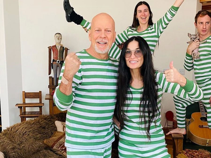 Bruce Willis Demi Moore: Για ποιον λόγο συνεχίζουν μαζί την καραντίνα και πως περνούν την ώρα τους [pics]