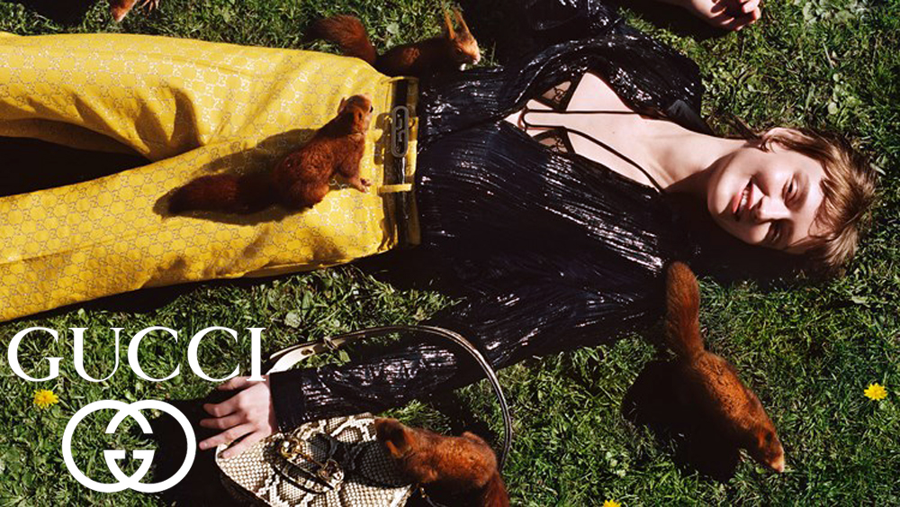 Gucci: Η νέα καμπάνια του οίκου μας βγάζει από την καραντίνα και μας πάει στη φύση
