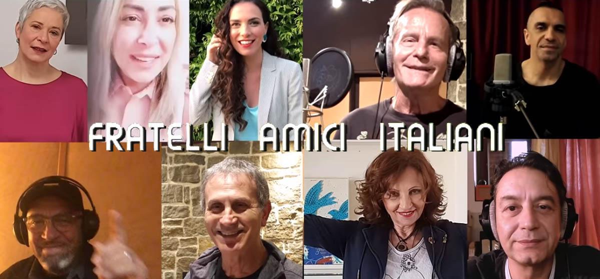 Fratelli Amici Italiani: Οι Έλληνες καλλιτέχνες δίπλα στους γιατρούς της Ιταλίας με ένα τραγούδι [vid]
