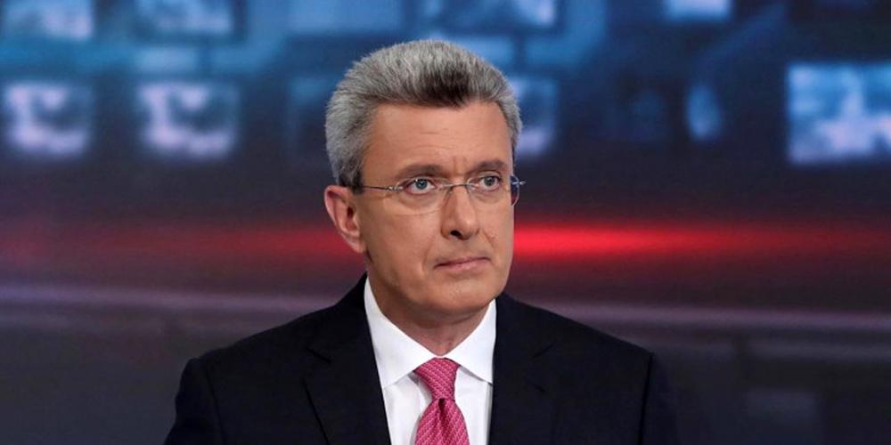 Νίκος Χατζηνικολάου: Η συγκίνησή του στη διάρκεια του δελτίου ειδήσεων [vid]