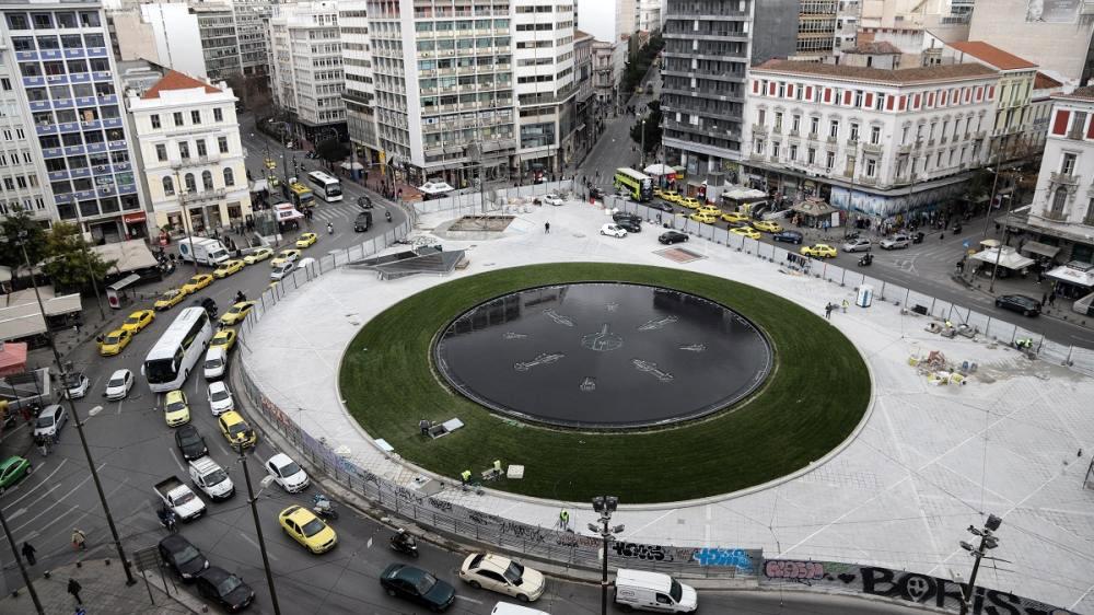Πλατεία Ομονοίας: Τα αποκαλυπτήρια σήμερα της νέας πλατείας [vid & pics]