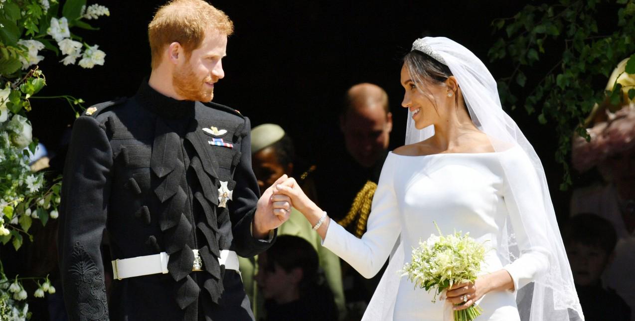 Μέγκαν Μαρκλ Πρίγκιπας Χάρι: Μια σπάνια φωτογραφία από το γάμο τους [pic]