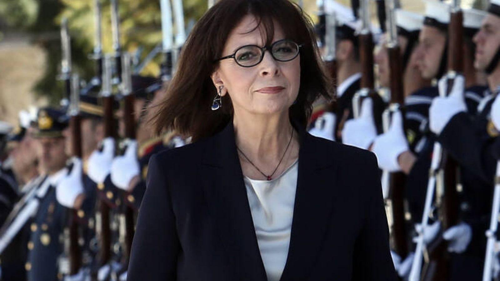 Κατερίνα Σακελλαροπούλου: Η συγκινητική υποδοχή που της επιφύλαξαν οι κάτοικοι του τόπου καταγωγής της [pics]