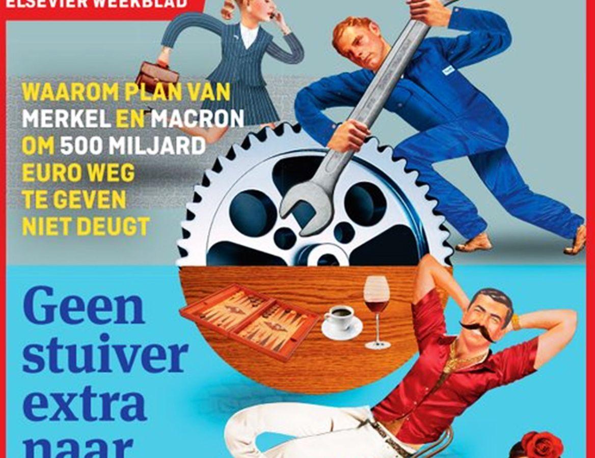 Ολλανδικό περιοδικό Elsevier: Έκανε αφιέρωμα για τους «τεμπέληδες του Νότου» και ξεσήκωσε σφοδρές αντιδράσεις [pic]