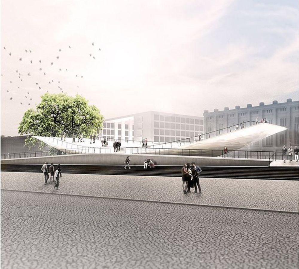 Ένα διαδραστικό γλυπτό – μνημείο για την ενότητα στην καρδιά του Βερολίνου