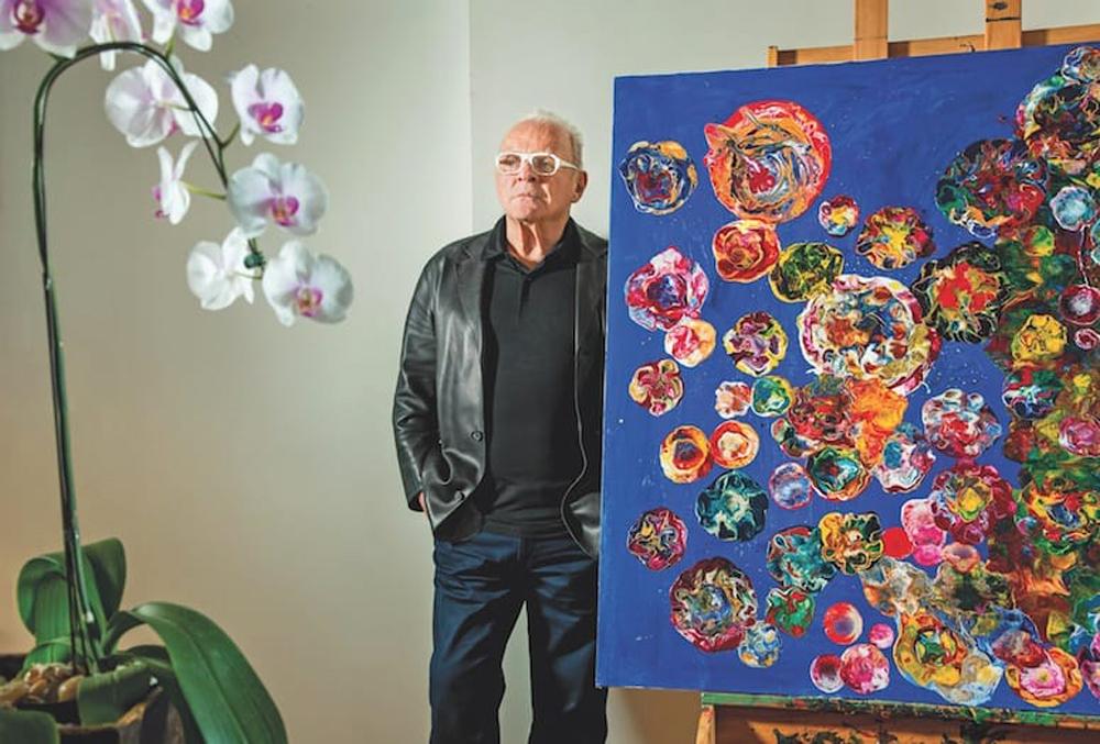 Άντονι Χόπκινς: Αν δεν τον είχαμε γνωρίσει ως ηθοποιό θα λέγαμε ότι είναι ένας εξαιρετικός ζωγράφος [pics]
