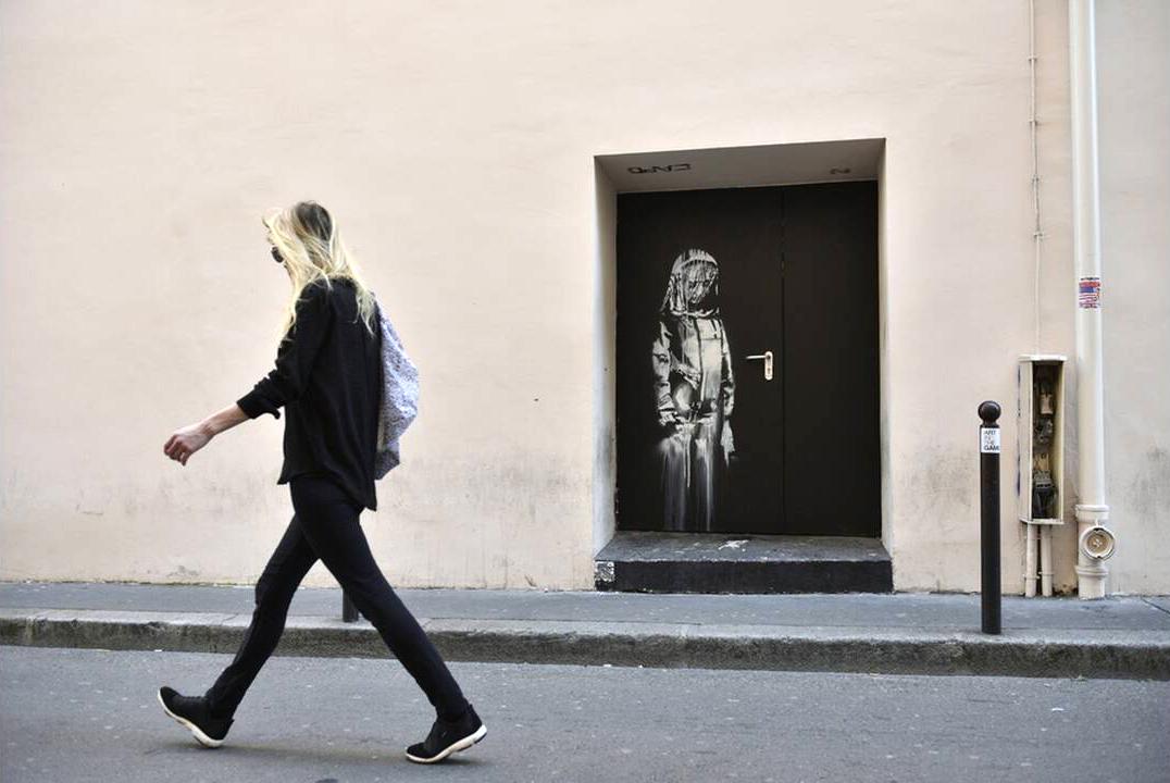 Ιταλία: Βρέθηκε το έργο του Banksy που είχε κλαπεί από το Μπατακλάν