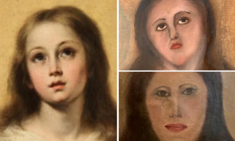 Καταστροφή έργων τέχνης από ανειδίκευτους συντηρητές στην Ισπανία