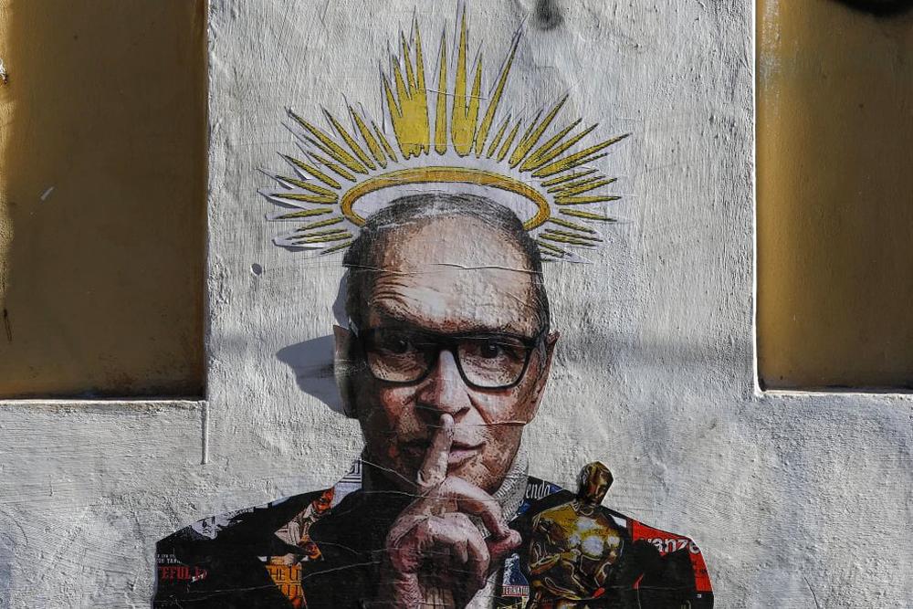 Il maestro: Μια τοιχογραφία αφιερωμένη στον Ένιο Μορικόνε, στη γειτονιά που γεννήθηκε