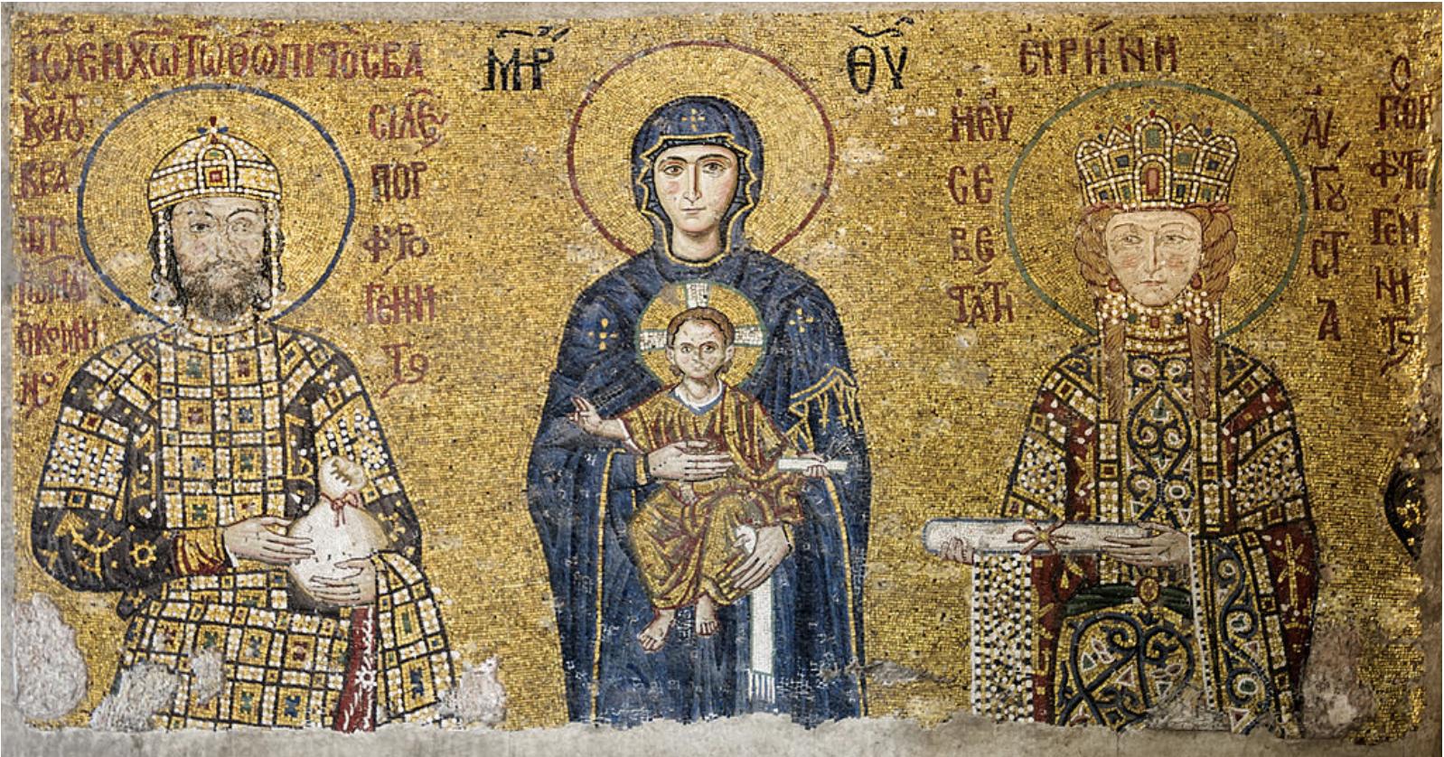 Αγία Σοφία: Ο εντυπωσιακός εσωτερικός διάκοσμος με μοναδικά ψηφιδωτά και τοιχογραφίες