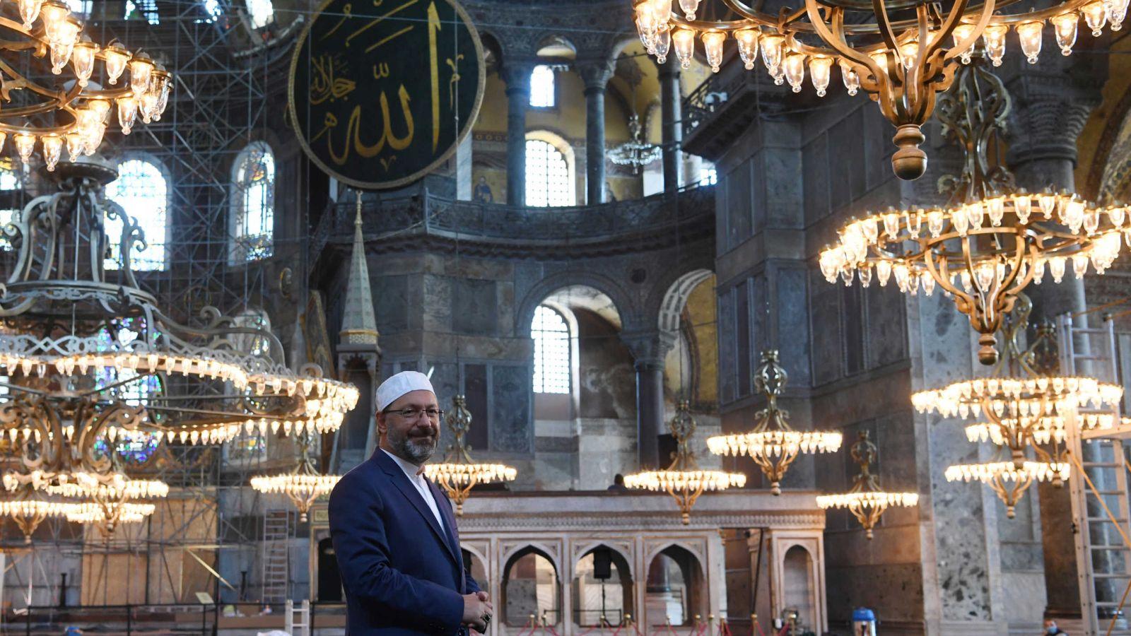 Αγία Σοφία: Η αντίστροφη μέτρηση για την πρώτη μουσουλμανική προσευχή [vid]