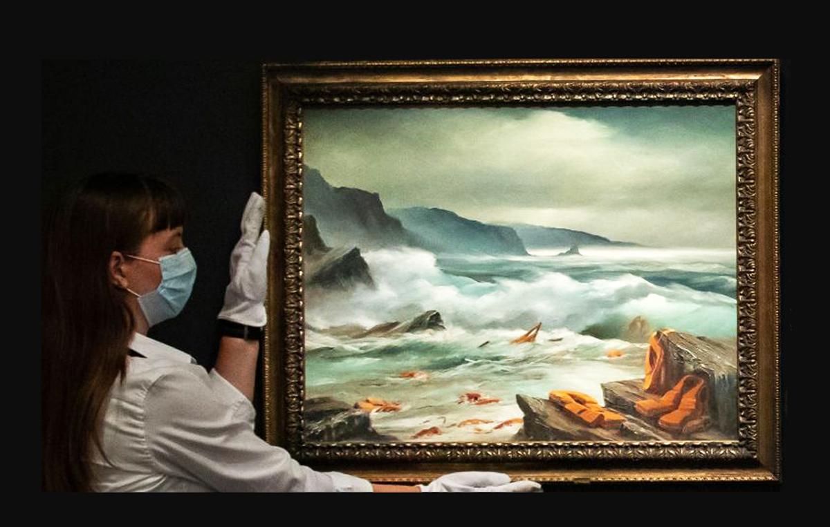 Banksy: Βγάζει σε δημοπρασία τρεις πίνακες του – Το ποσό θα δοθεί σε νοσοκομείο