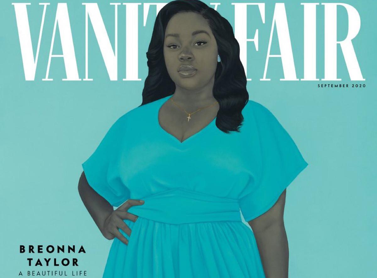 Breonna Taylor: To συγκινητικό πορτρέτο της από την καλλιτέχνιδα Amy Sherald, για το Vanity Fair