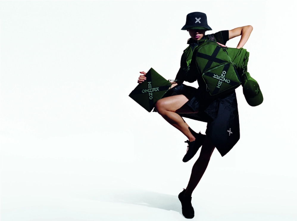 Kenzo: Ο αθλητισμός έχει την τιμητική του – Η νέα sport collection του brand