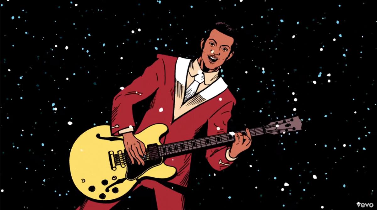 Chuck Berry: Η χριστουγεννιάτικη επιτυχία του «Run Rudolph Run» έχει μετά από 60 χρόνια και βιντεοκλίπ [vids]