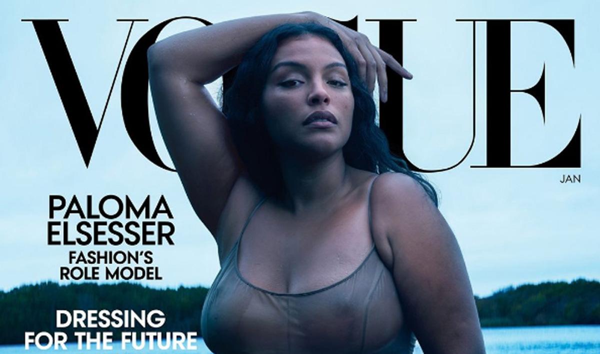Paloma Elsesser: Το plus size μοντέλο εκφράζει τις αξίες της Vogue US για τη νέα χρονιά