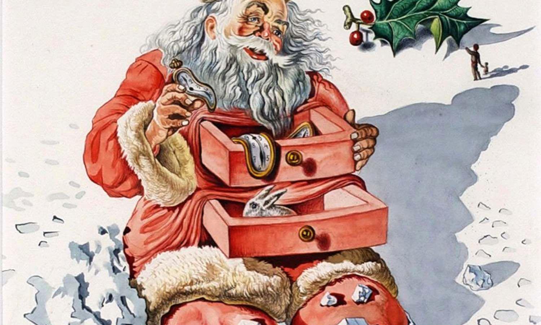 Τα Χριστούγεννα του Σαλβαντόρ Νταλί και οι χριστουγεννιάτικες κάρτες του που τελικά αποσύρθηκαν