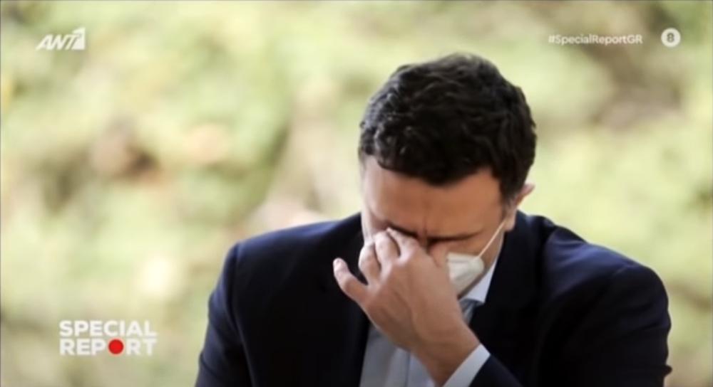 Βασίλης Κικίλιας: Η συγκίνηση και τα δάκρυα για τους εργαζόμενους στην υγεία [vid]