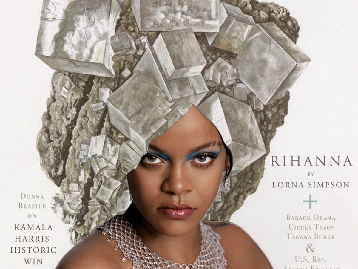 Rihanna: Η θρυλική καλλιτέχνης Lorna Simpson υμνεί τη σύγχρονη μαύρη ομορφιά μέσα από το εξώφυλλο του Essence