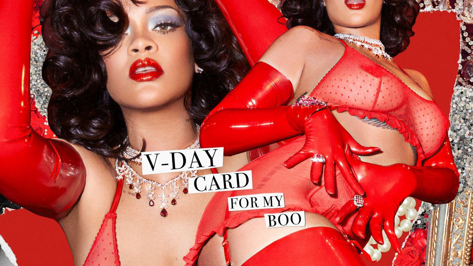 Rihanna: Δοκιμάζει εσώρουχα για του Αγίου Βαλεντίνου και μας ξετρελαίνει [pics]