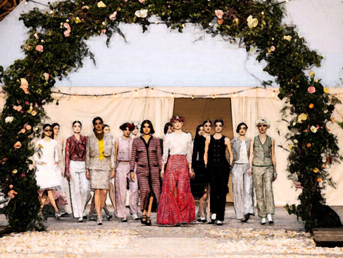 Chanel: Νύχτα… γάμου με πειραματισμούς και απελευθερωμένη διάθεση