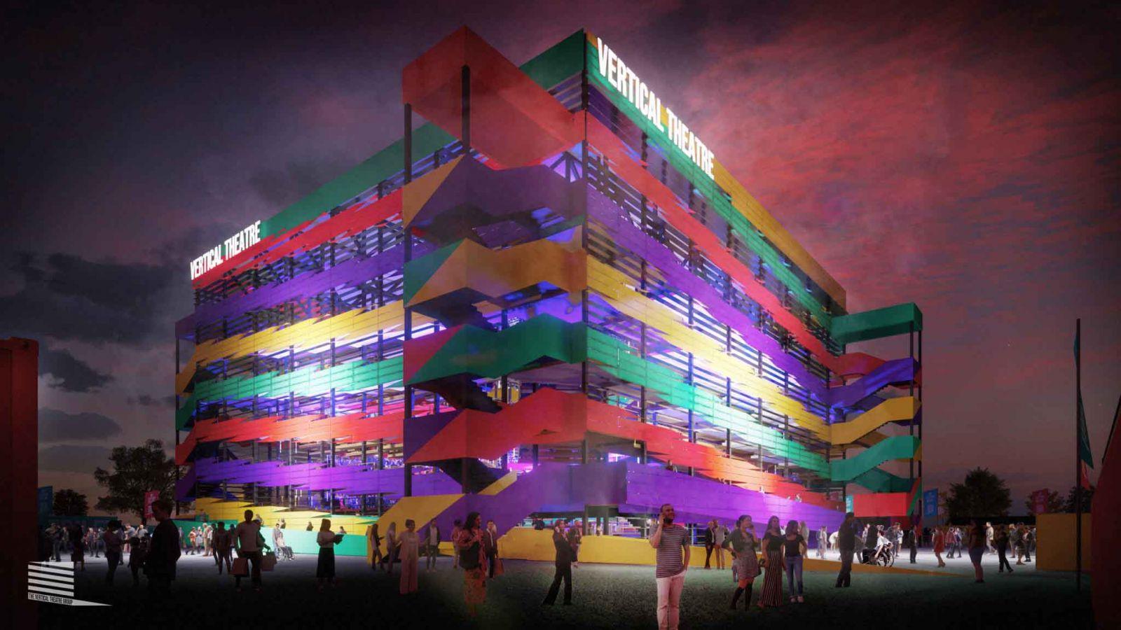 Vertical Theatre: Ένας πολυχώρος τέχνης στη νέα εποχή της κοινωνικής απόστασης