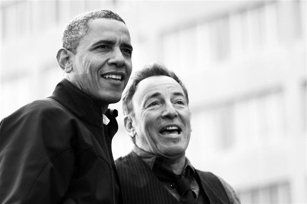 Μπαράκ Ομπάμα: Η συνεργασία έκπληξη με τον Μπρους Σπρίνγκστιν στο Spotify
